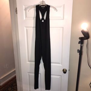 Forever 21 SzS black exercise Jumpsuit